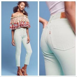NWT Levi's Wedgie Icon from Anthropologie- Size 29